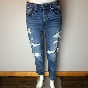 American Eagle Tom girl Skinny Jeans